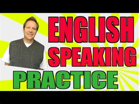 English Speaking Practice: How You Can Become More Fluent ...