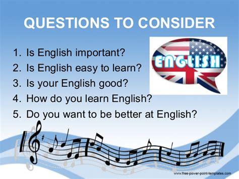 English through songs