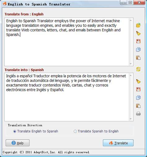 English to Spanish Translator 1.20 Download