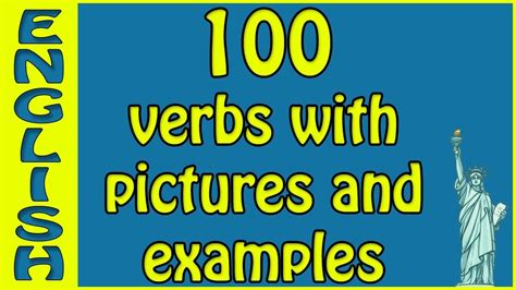English vocab English verbs with examples and pictures ...