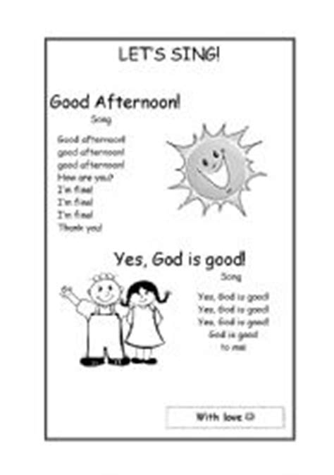 English worksheets: English songs for kids