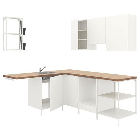 ENHET Cocina de esquina   blanco   IKEA