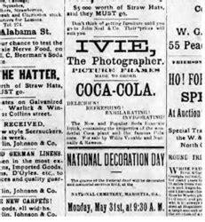 Enroque de ciencia: Primer anuncio de Coca Cola