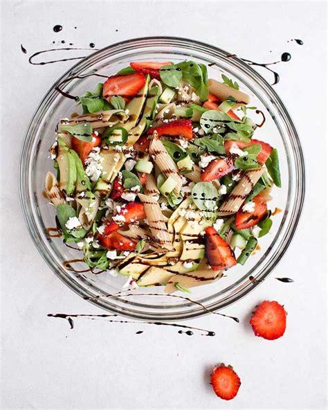 Ensalada de Macarrones y Fresas   Shoot the Cook   Recetas ...