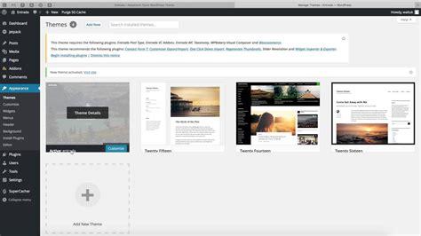 Entrada Wordpress Theme Install   YouTube
