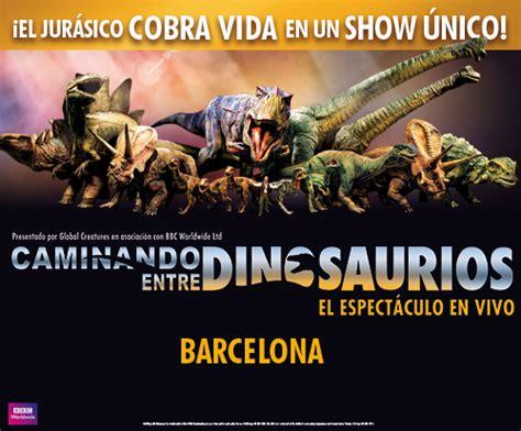 Entradas Caminando entre dinosaurios en Barcelona ...