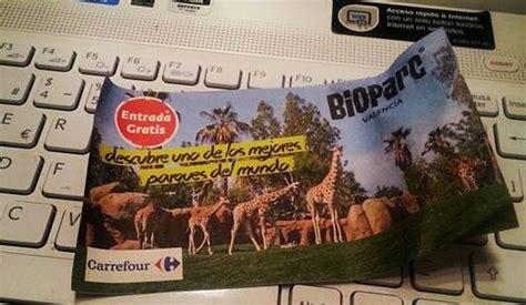 Entradas gratis para Bioparc con Carrefour | Ahorradoras.com