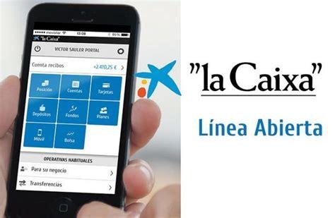 Entrar en Línea Abierta de CaixaBank