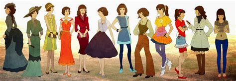 Entre mujeres: EVOLUCIÓN DE LA MODA