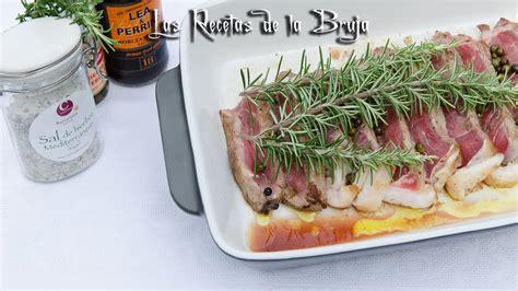 ENTRECOT AL HORNO CON ROMERO   Recetas de cocina fáciles ...