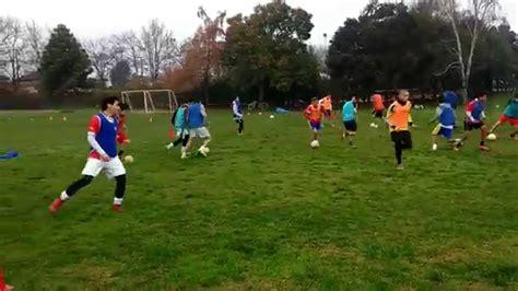 Entrenamiento Futbol Juvenil   Posesión De Balón   YouTube