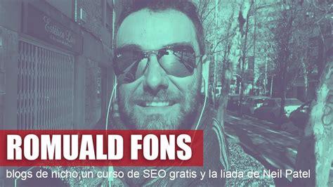 Entrevista a Romuald Fons   Micronichos rentables, Adsense ...