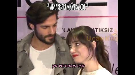 Entrevista en la gala de la película  Amor sin Fin  a ...