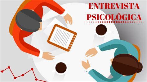 ENTREVISTA PSICOLÓGICA!!!   YouTube