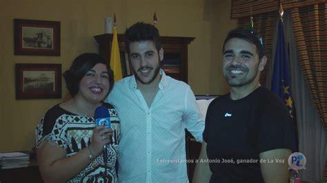 Entrevistamos a Antonio José, ganador de La Voz FACEBOOK ...