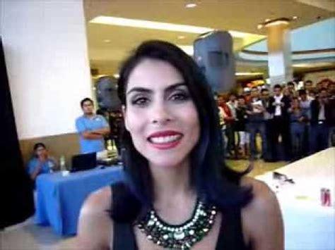 Entrevistando a María León   agosto 2013.   YouTube