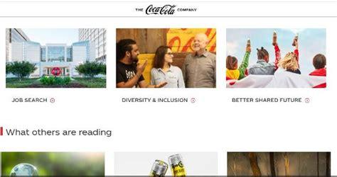 Envía tu currículum para trabajar en Coca Cola   onlinecv.es