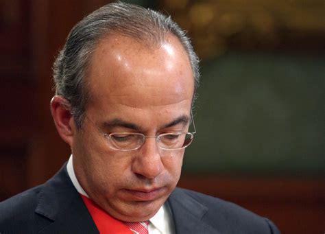 Envían políticos condolencias al ex presidente Calderón ...