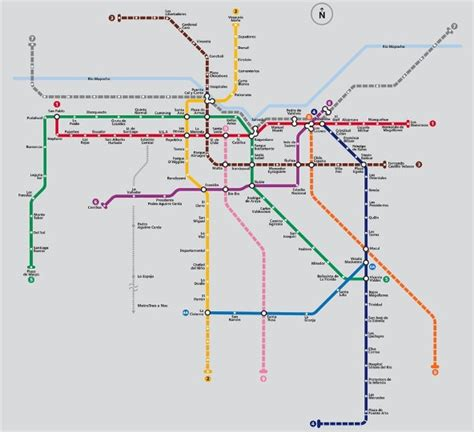 Envidia: Metro de Chile se extiende a 140 km   El Economista