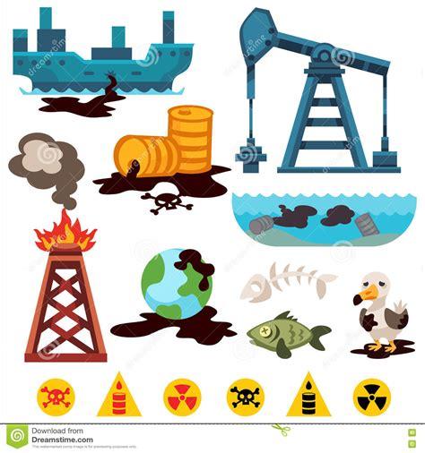 Environmental Pollution Vector Icons Stock Vector ...
