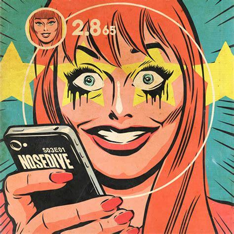 Episódios de Black Mirror em quadrinhos   Comics vintage ...