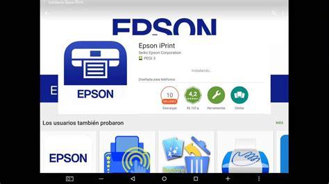Epson iPrint aplicion para imprimir desde smartphone ...