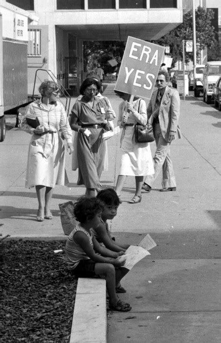 Equal Rights Amendment  ERA . Demonstration, Cobo Hall ...