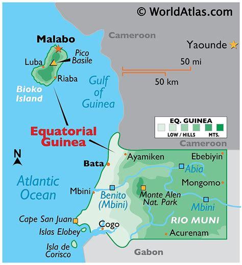 Equatorial Guinea Maps & Facts   World Atlas