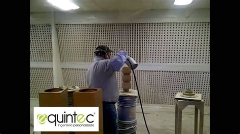 EQUINTEC   Fabricación Cabina de Pintura Liquida para ...