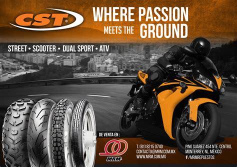 Equipa tu moto con las llantas CST disponibles en Moto ...