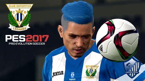 Equipación CD Leganés 2016/17 [PES 2016/17]   YouTube