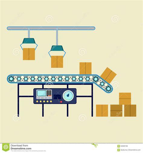 Equipo Industrial Para Las Cajas De Empaquetado ...