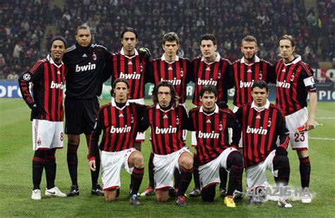 equipos de futbol europeos: AC MILAN