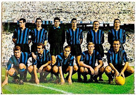 EQUIPOS DE FÚTBOL: INTER DE MILÁN en la temporada 1961 62