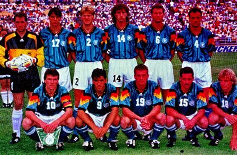 EQUIPOS DE FÚTBOL: SELECCIÓN DE ALEMANIA en la US Cup 1993