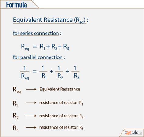 Equivalent Resistance Calculator
