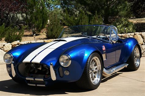 ERA 1965 Shelby Cobra Replica   ERA#430   Blue w/ White ...