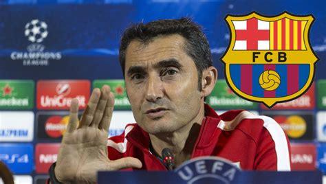 Ernesto Valverde es el nuevo entrenador del FC Barcelona ...