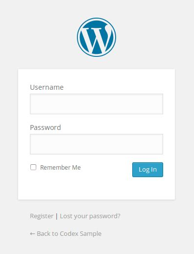 Error en login de Wordpress  wp login.php?redirect...