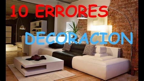 ERRORES COMUNES EN LA DECORACION DEL HOGAR TOP 10 #   YouTube