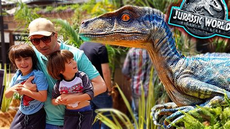 ES EL VELOCIRAPTOR BLUE !!  Jurassic World 2 Fallen ...