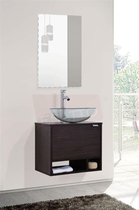 Esatto Mueble Baño Dcta Drop Plus Lavabo Vidrio Llave ...