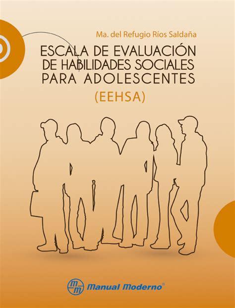 Escala de Evaluación de Habilidades Sociales para ...