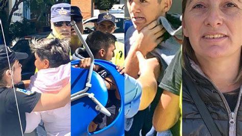 ESCÁNDALO EN PLENO CENTRO:  El policía lo quiso manotear y ...