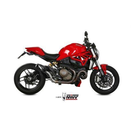 Escape Ducati Monster 1200 2014 2017 Mivv MK3 Carbono D ...