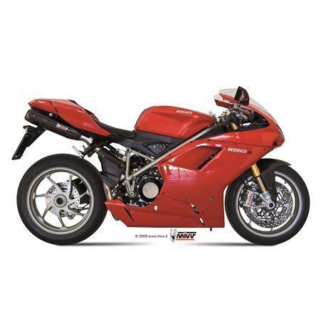 Escape Mivv UD.021.L9 Ducati 1198 del 2009 2012 Suono Inox ...