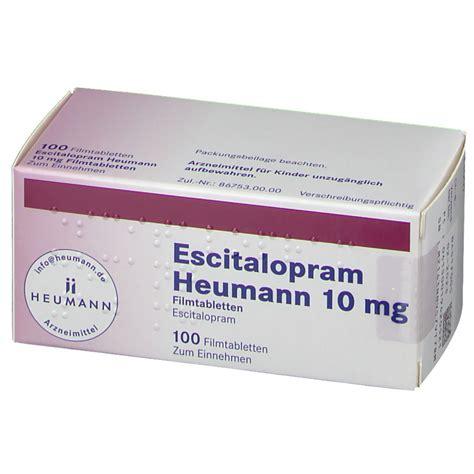 Escitalopram Heumann 10 mg 100 St   shop apotheke.com