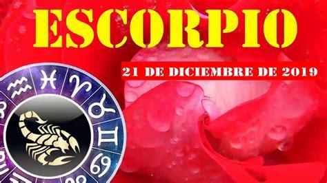 Escorpio horóscopo de hoy 21 de Diciembre 2019   Esa ...