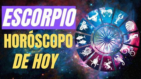 Escorpio Horóscopo De Hoy 26 de Mayo Del 2019      YouTube