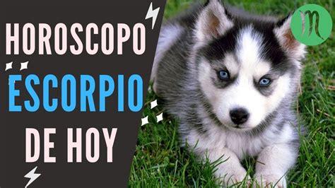 Escorpio Horóscopo De Hoy 27 de Mayo Del 2019      YouTube